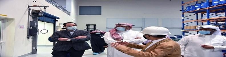 شركة كاد الشرق الأوسط للصناعات الدوائية - زيارة الخطاف الي كاد